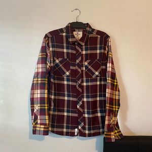 Bellfield Dark Purple Flannel